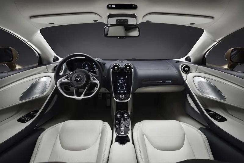 McLaren GT 2020 interieur