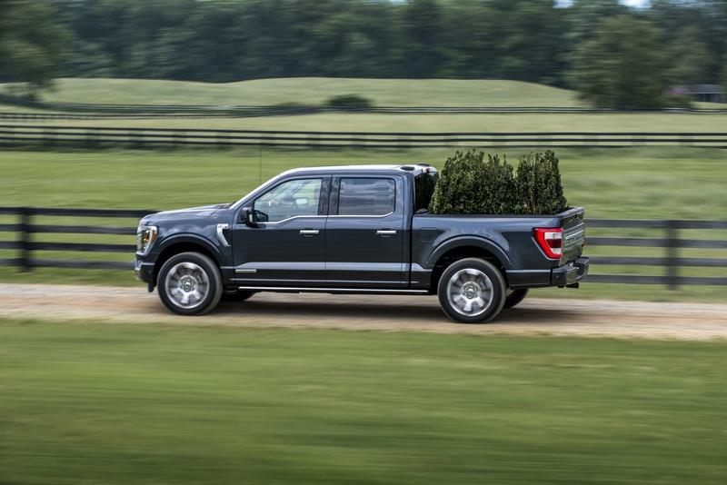 Ford Announces The Power Output Figures For Every Engine Option On The 2021 F-150 Exterior - image 915471