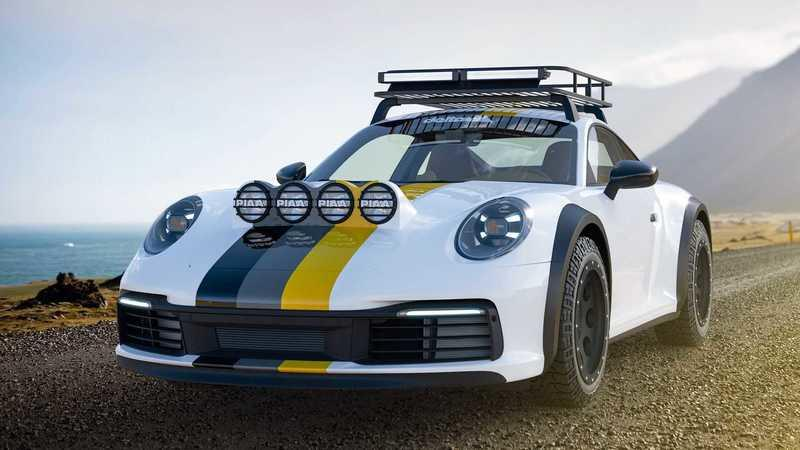 2021 Porsche 911 Dakar by Delta4x4 Exterior - image 922469