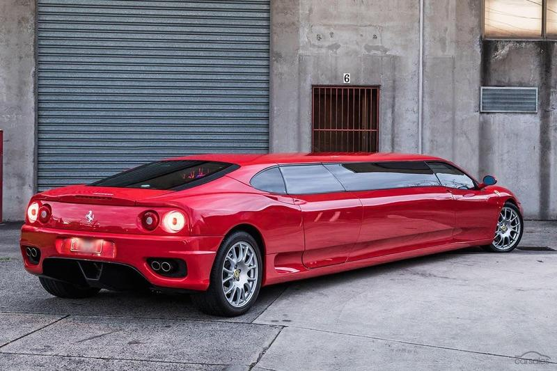 Someone is Selling a 2003 Ferrari 360 Limo And We Can Almost Smell the Lawsuit Exterior - image 926970