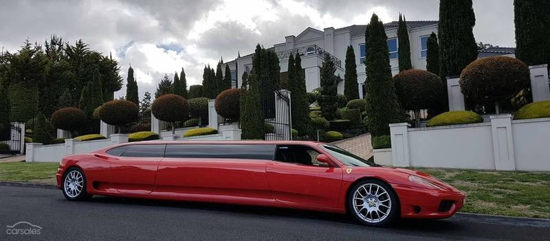 Someone is Selling a 2003 Ferrari 360 Limo And We Can Almost Smell the Lawsuit Exterior - image 926959