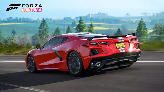 The Chevy C8 Corvette Is Coming To Forza Horizon 4