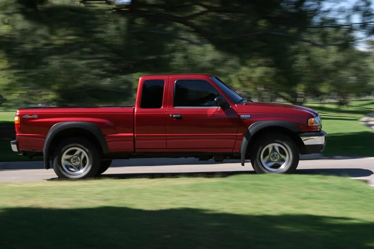 hight resolution of red 2000 mazda b3000