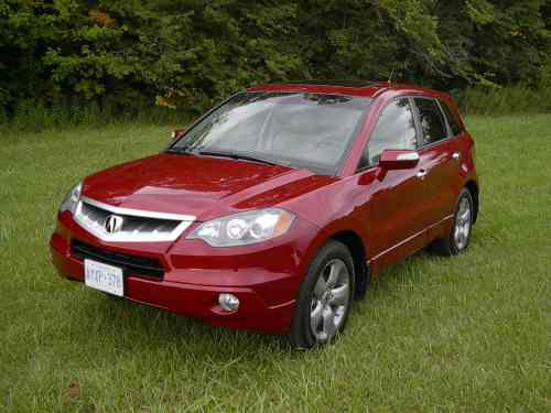 small resolution of 2007 acura rdx top speed