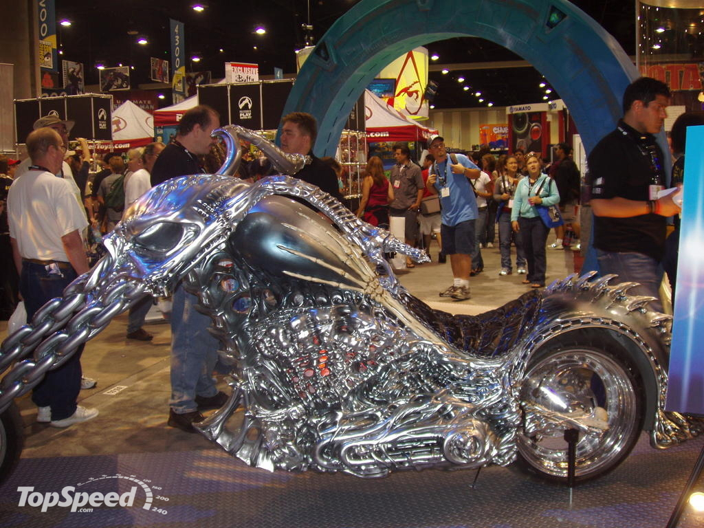 Ghost Rider Trailer Picture 106162 Motorcycle News