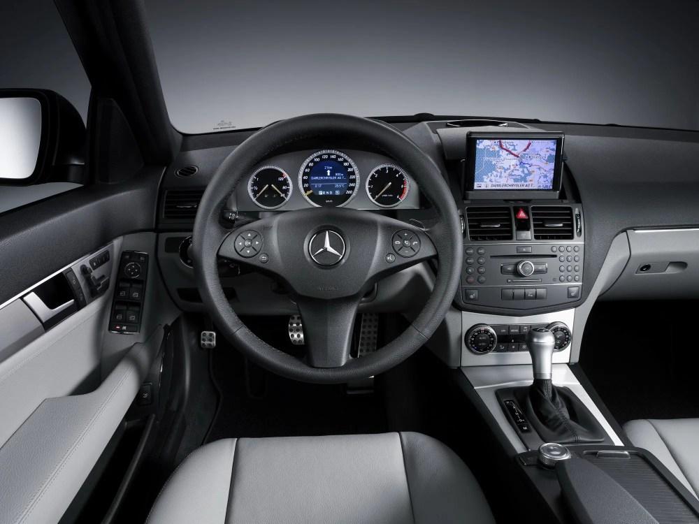 medium resolution of 2008 mercede c300 interior