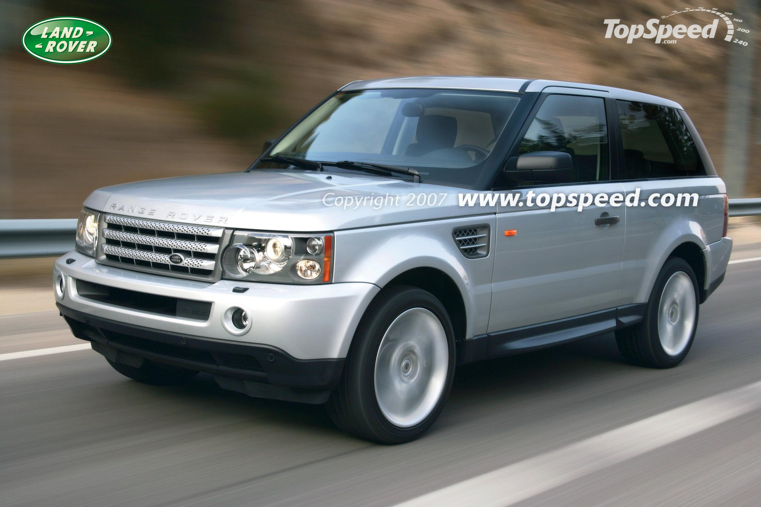 2009 Range Rover Sport 2 doors Review Gallery Top Speed