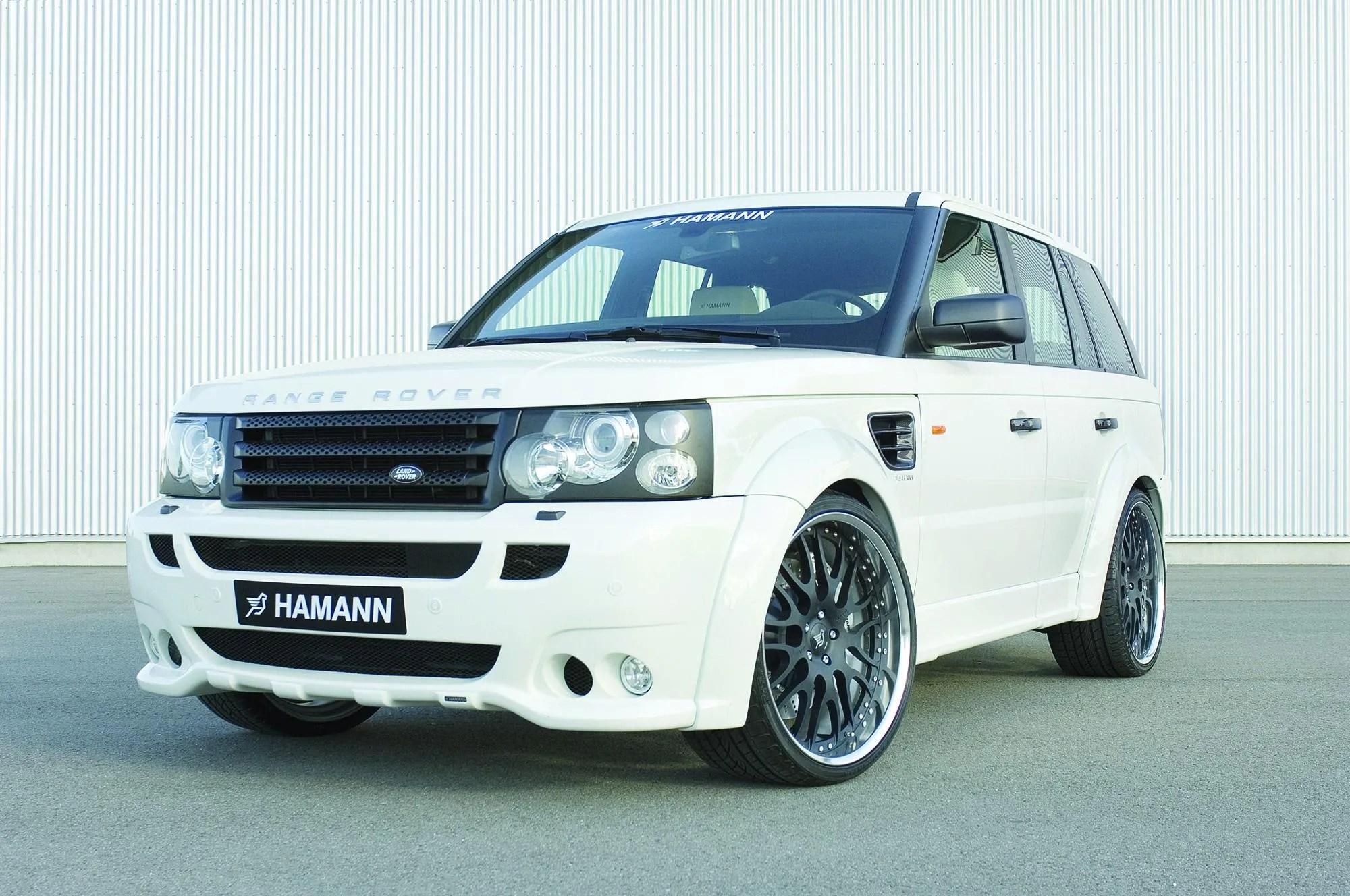 "HAMANN Range Rover Sport ""Conqueror"" Review Gallery Top Speed"