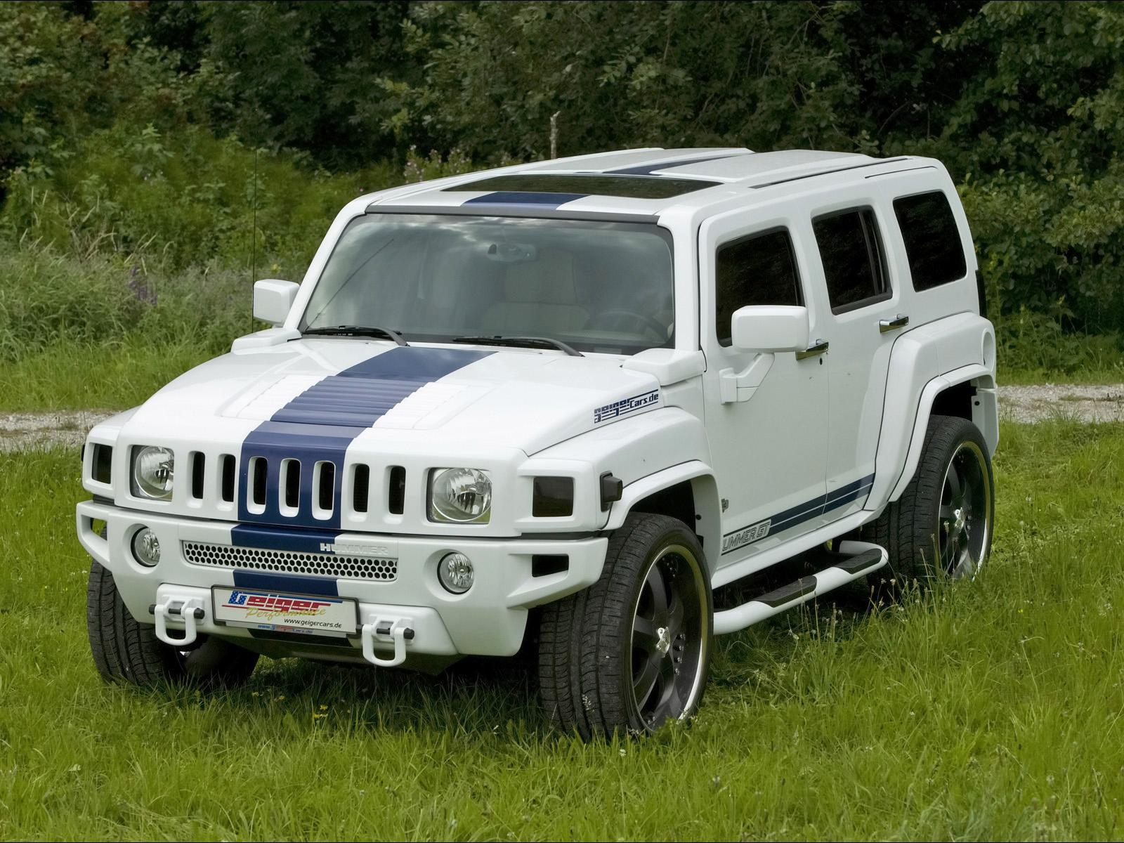 2008 Hummer H3 GT By GeigerCars Review Gallery Top Speed