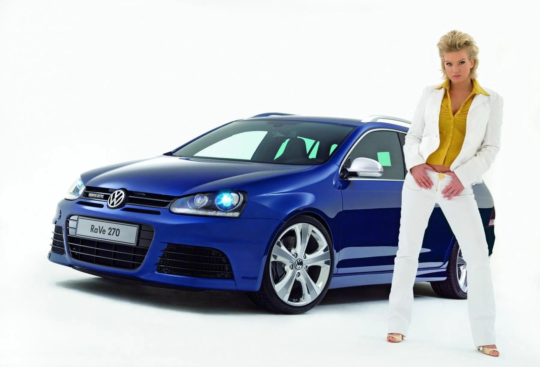 2007 Volkswagen Golf Variant RaVe 270 Top Speed