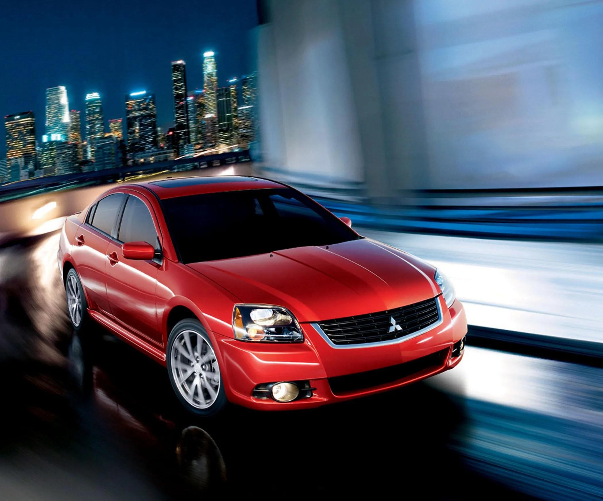 2009 Mitsubishi Galant Top Speed