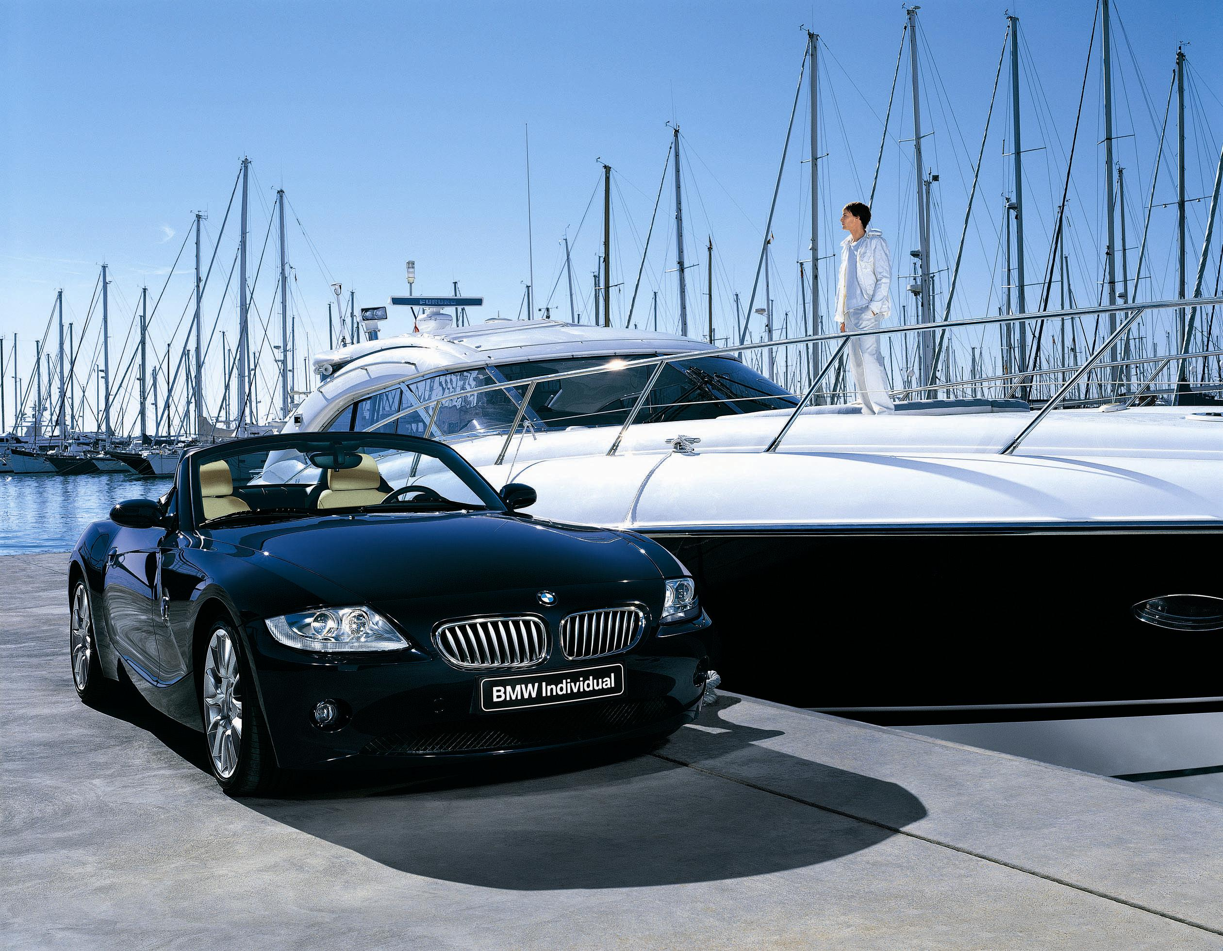 Bmw X5m Wallpaper Hd 2008 Bmw Z4 Roadster 2 5i Individual Edition Top Speed
