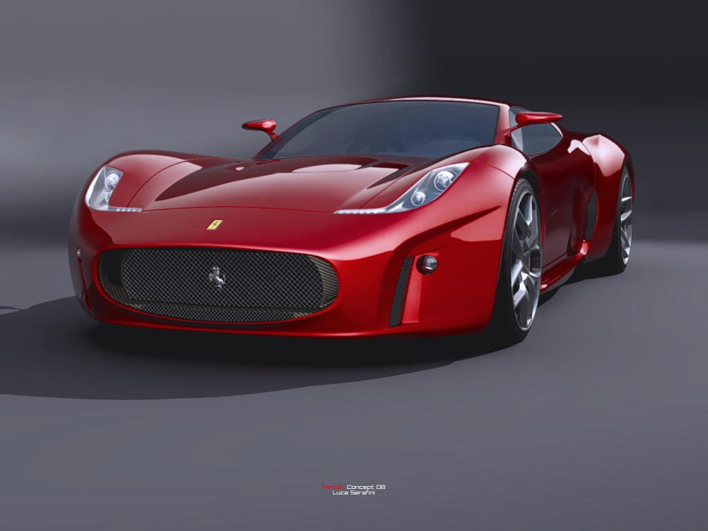 Ferrari Concept 2008 Design By Luca Serafini Top Speed