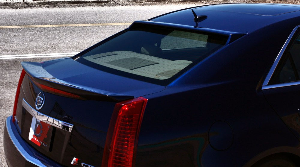 medium resolution of d3 introduces cadillac cts rear spoilers top speed