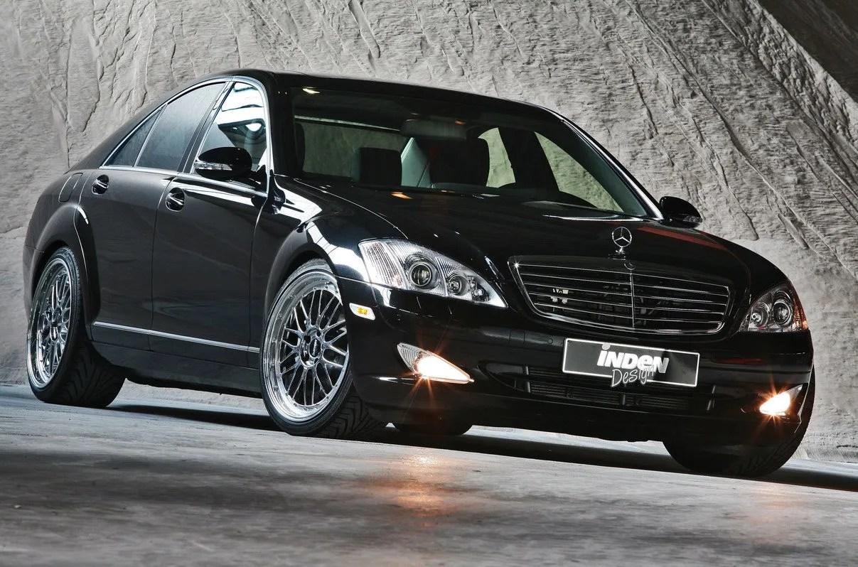 Mercedes S500 4MATIC By Inden-Design   Top Speed