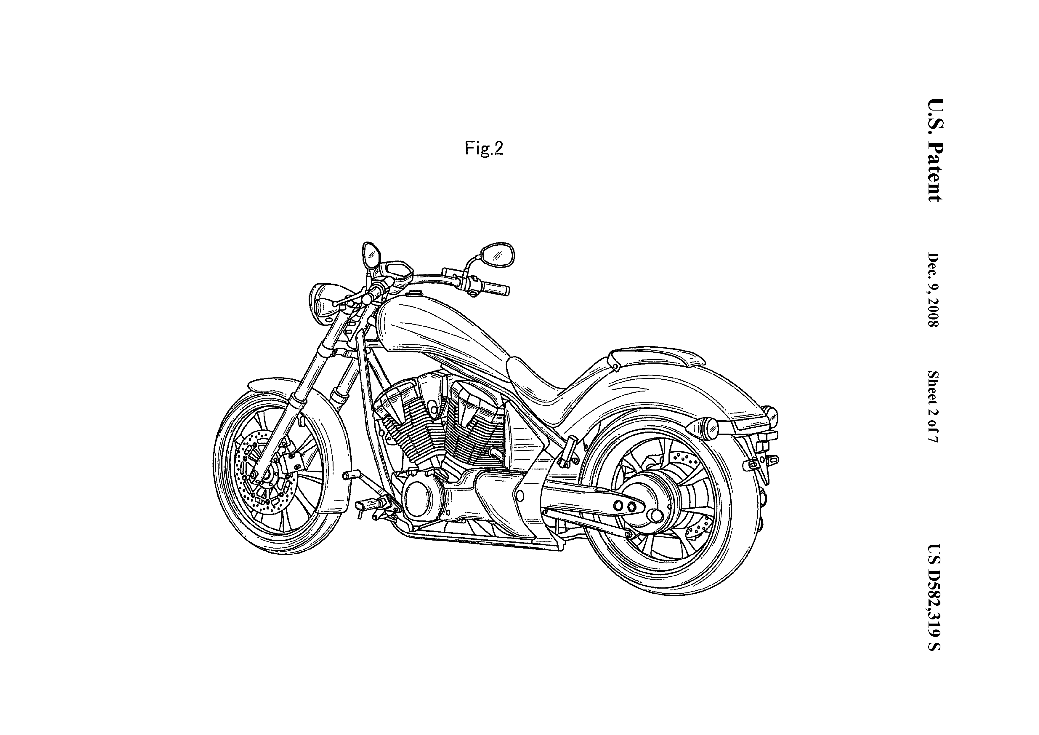 Honda Reveals Patent Images Of Their Fury Gallery 279108