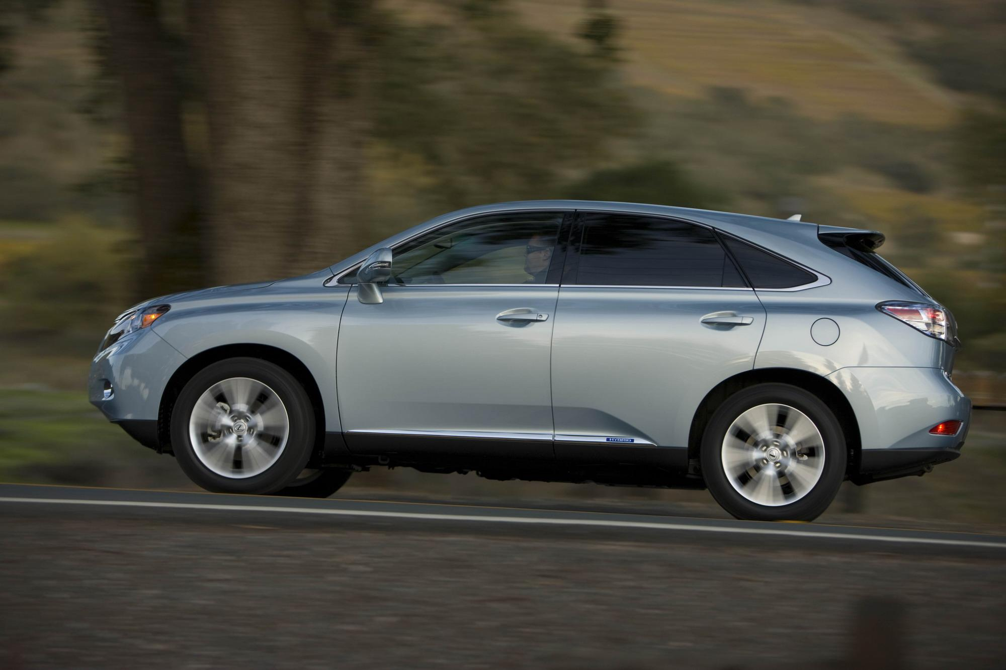 2010 Lexus RX450h Review Top Speed