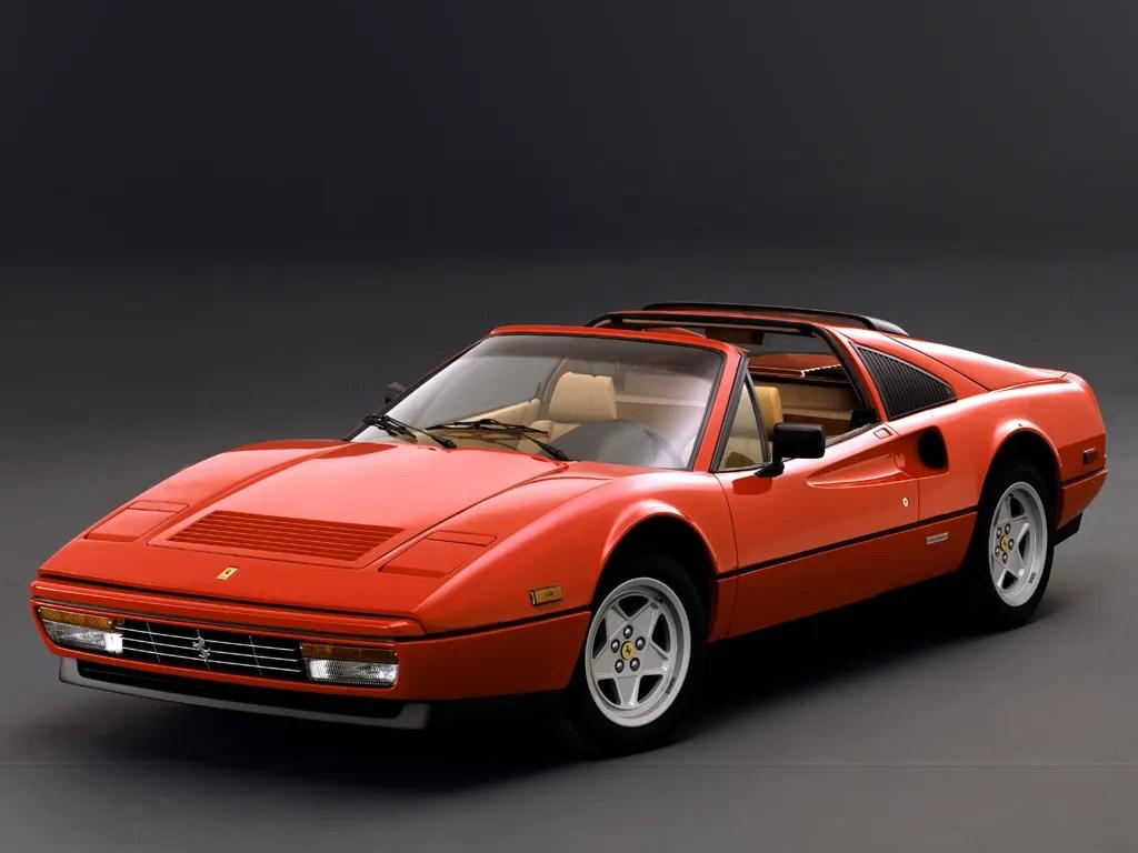 Red Ferrari Car Hd Wallpaper 1985 1989 Ferrari 328 Gts Top Speed