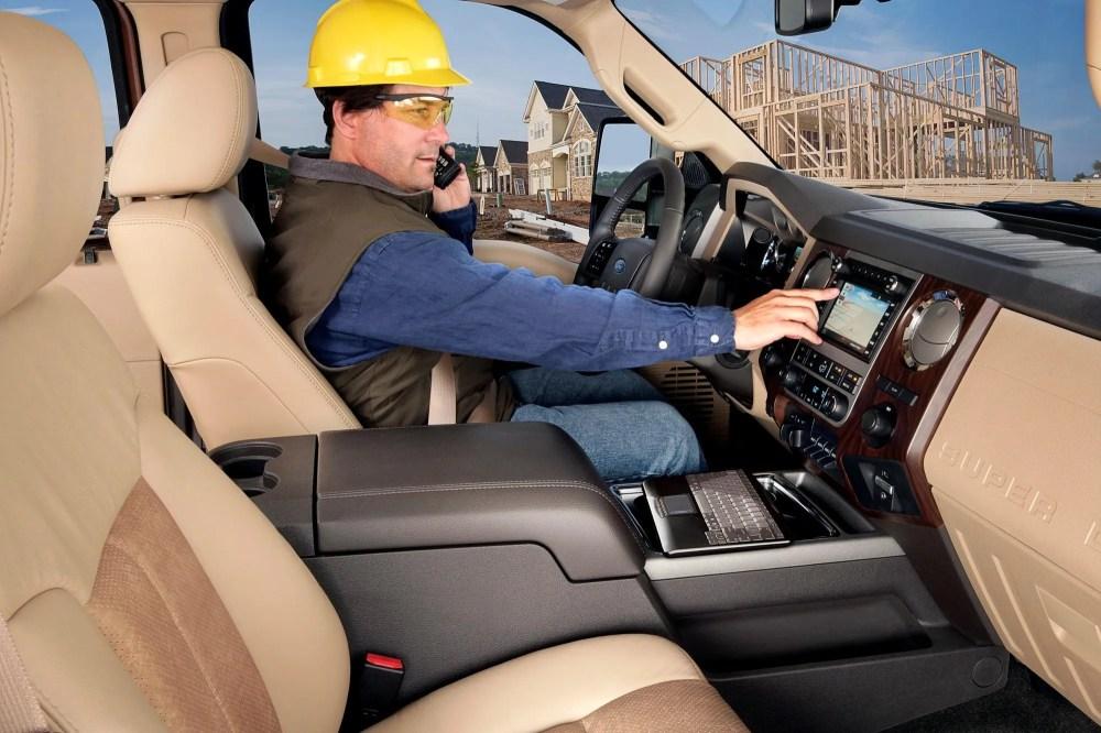 medium resolution of 2011 ford super duty console
