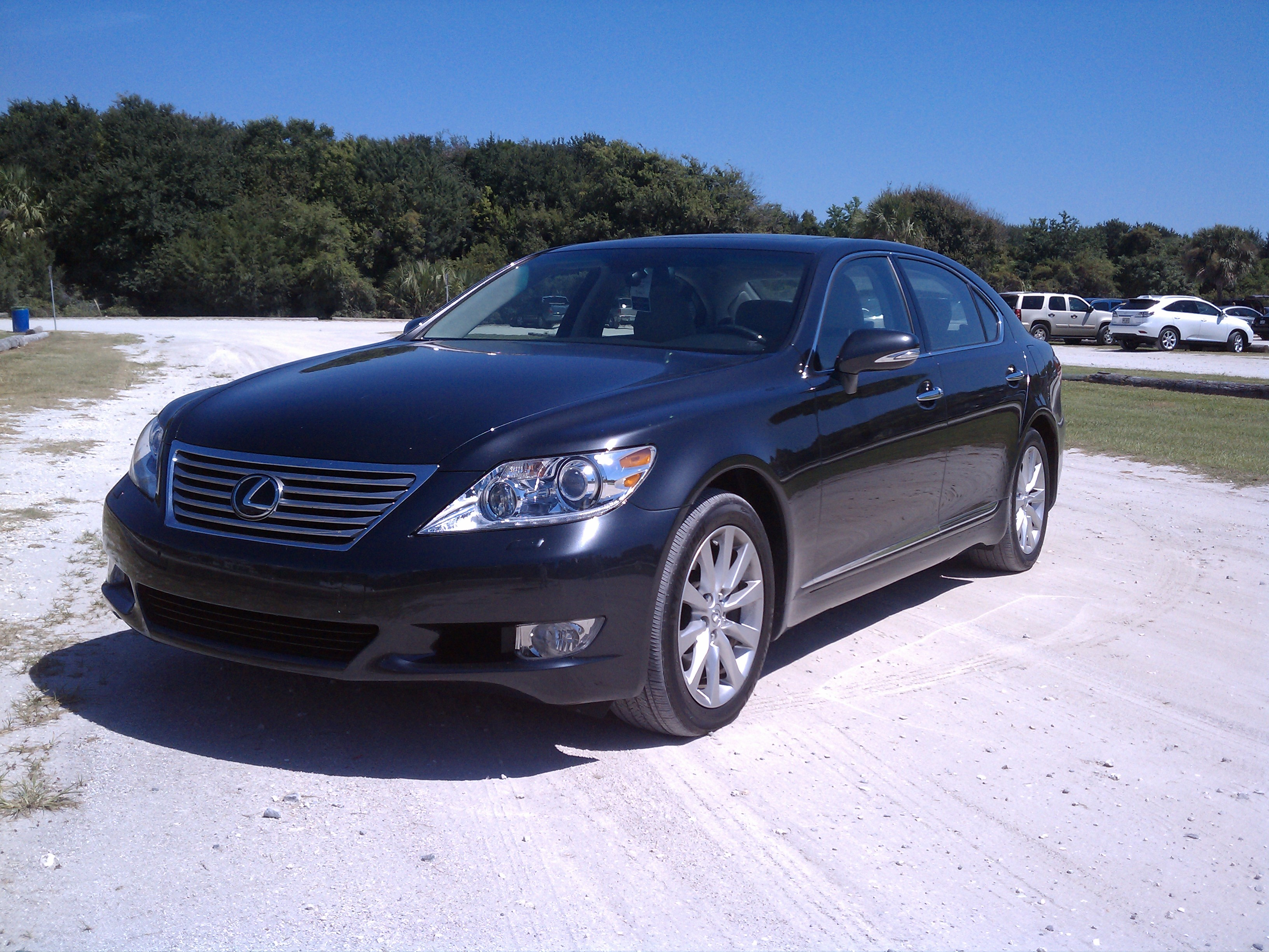 2010 Lexus LS460L Top Speed