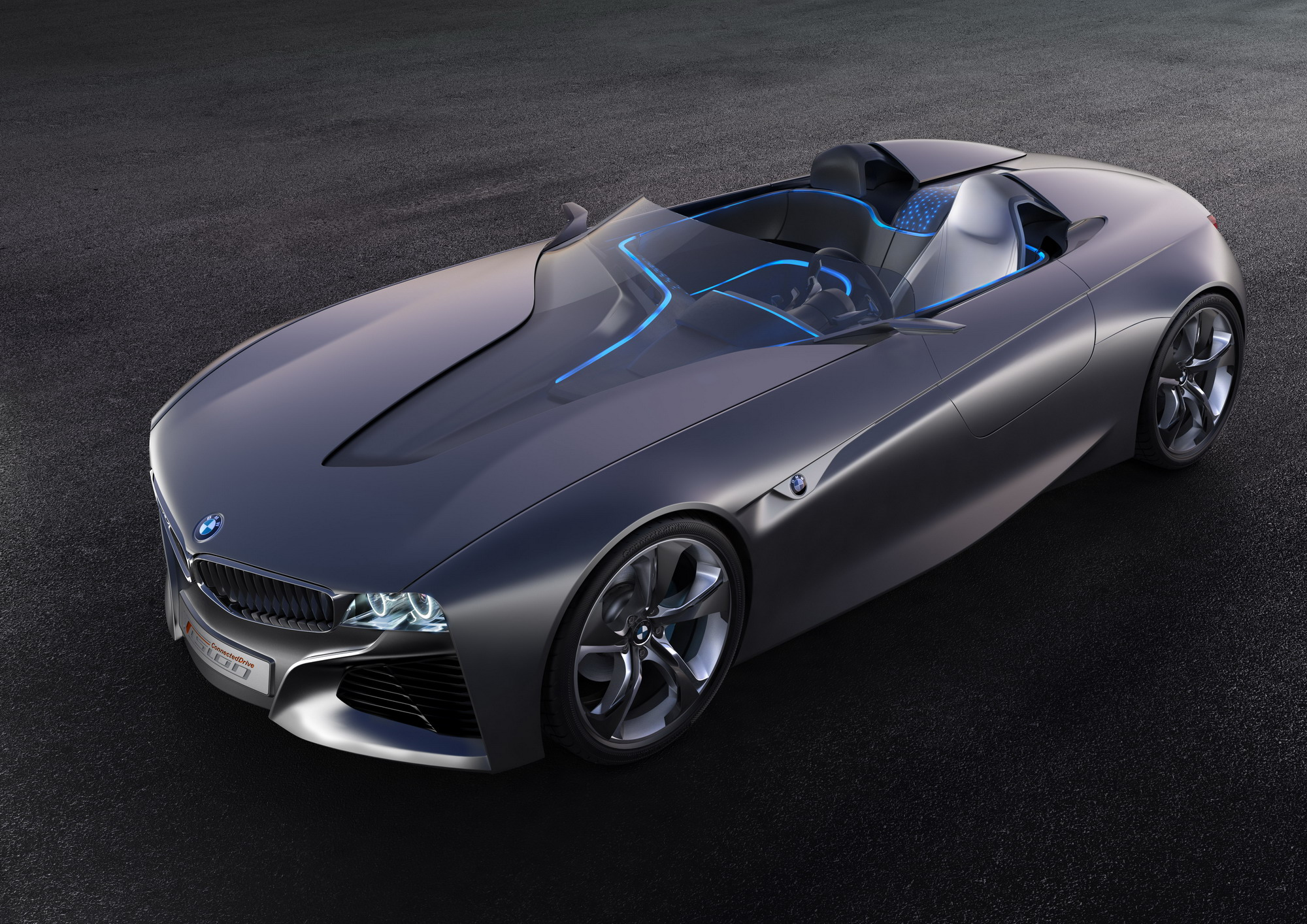 2011 Bmw Vision Connecteddrive Concept  Top Speed