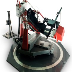 Hydraulic Racing Simulator Chair Laura Ashley Table And Chairs Force Dynamics Is The God Of Gaming Top Speed