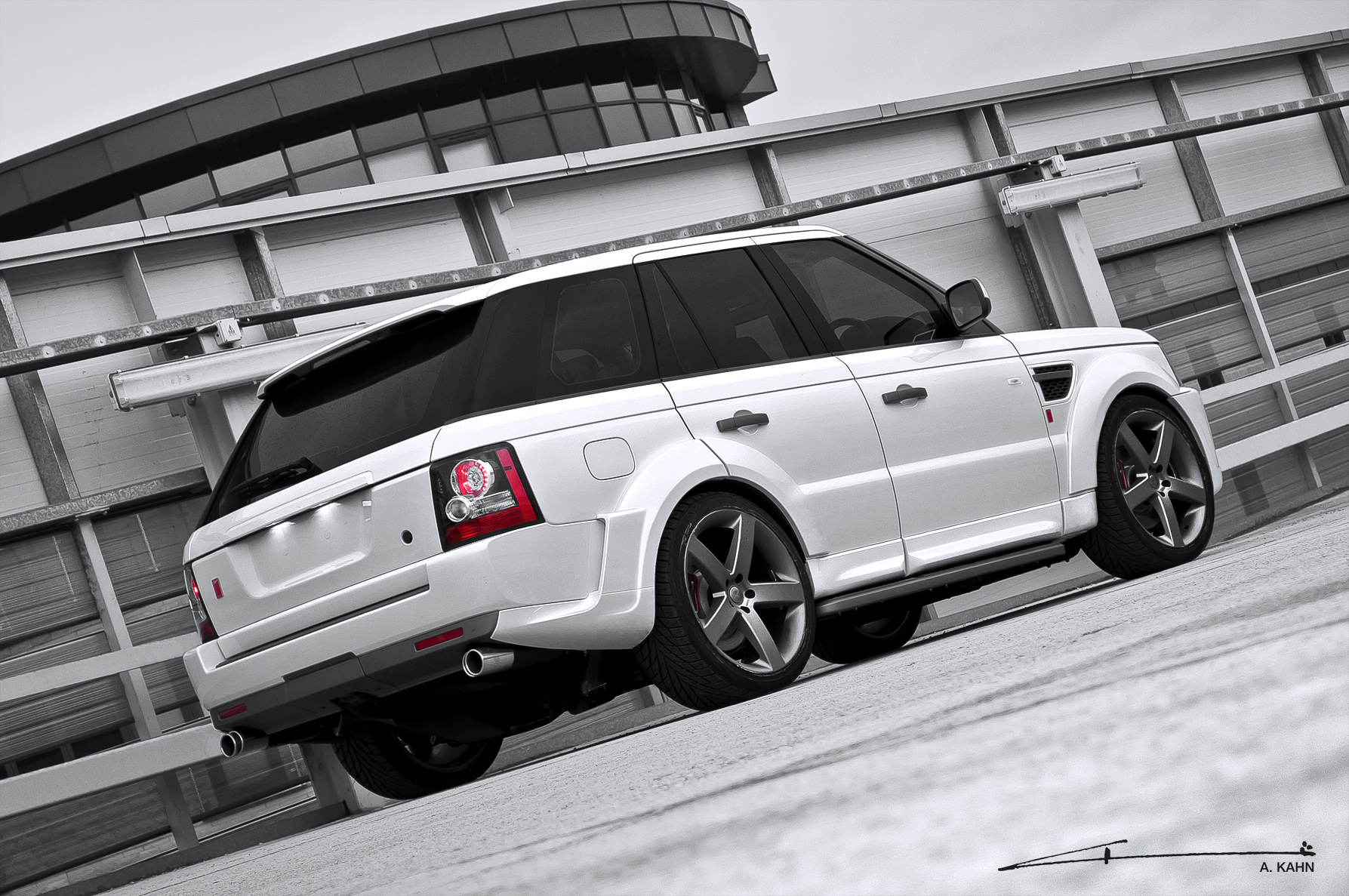 2011 Range Rover Sport RS300 Cosworth By Kahn Design Review Top