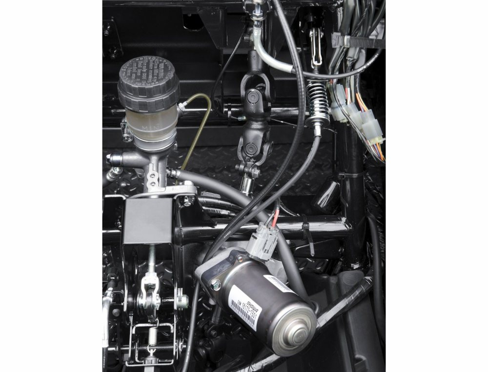 medium resolution of a fuel filter on kawasaki mule