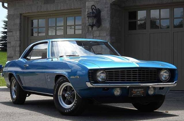 Old Classic El Camino Muscle Cars Wallpaper 1969 Chevrolet Camaro Copo 427 Yenko Top Speed