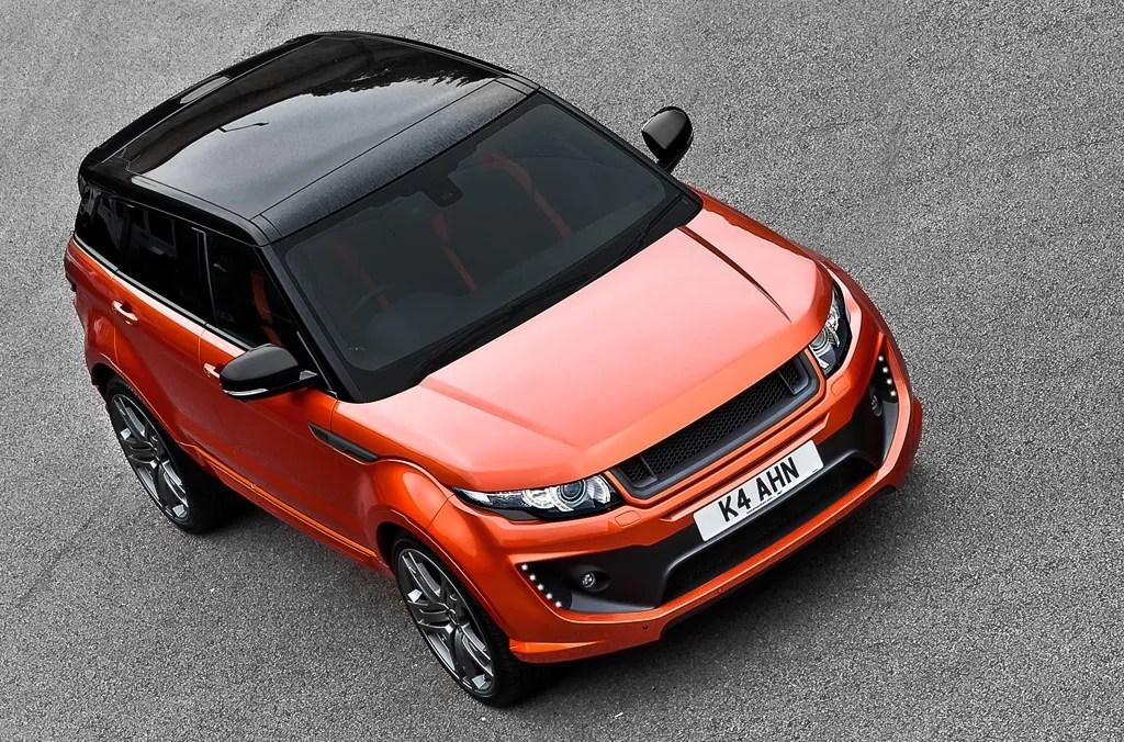 2012 Range Rover Evoque Vesuvius Copper Edition By Kahn Design