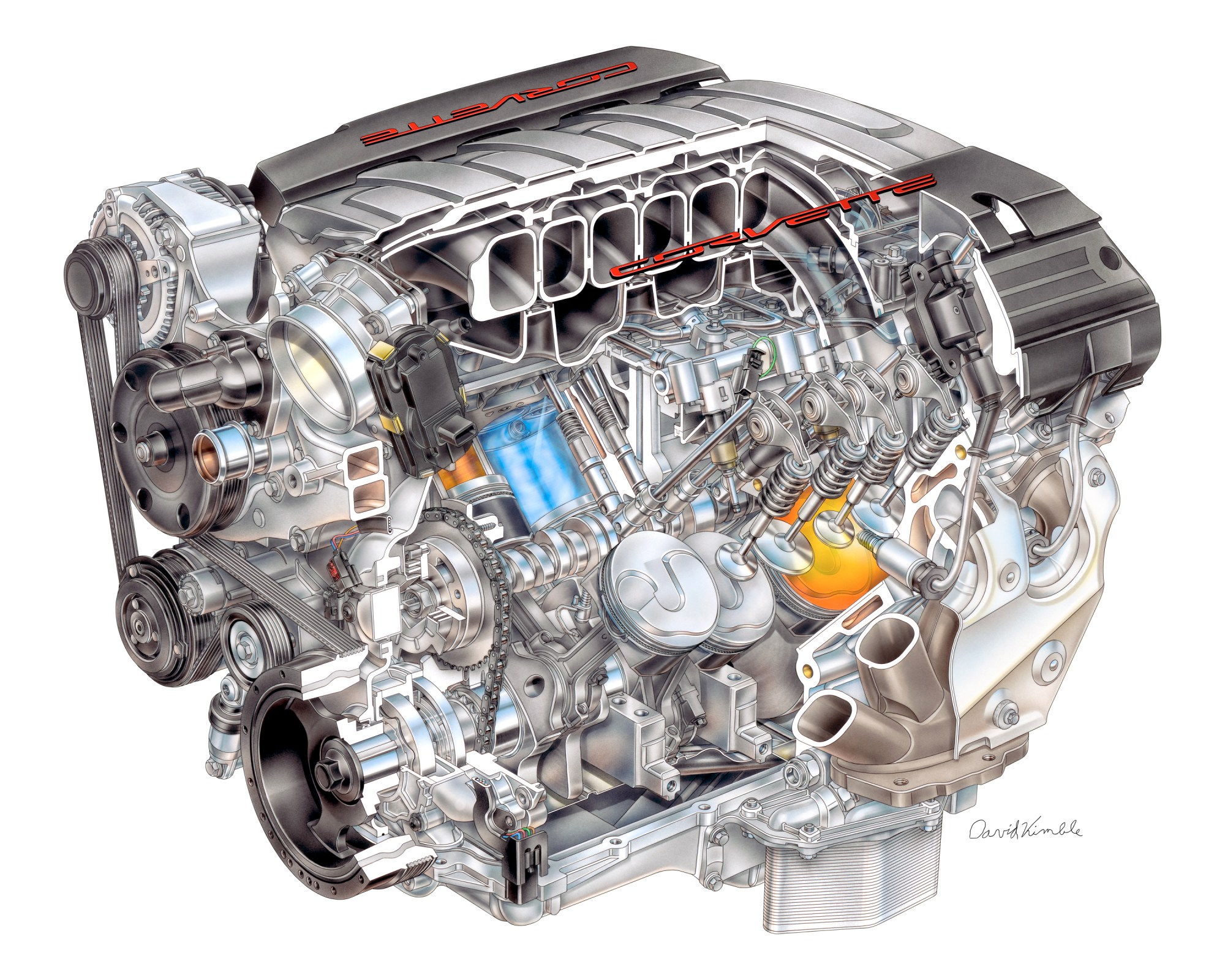 hight resolution of chevrolet introduces the all new lt1 v8 engine for the c7 corvette corvette c7 engine diagram