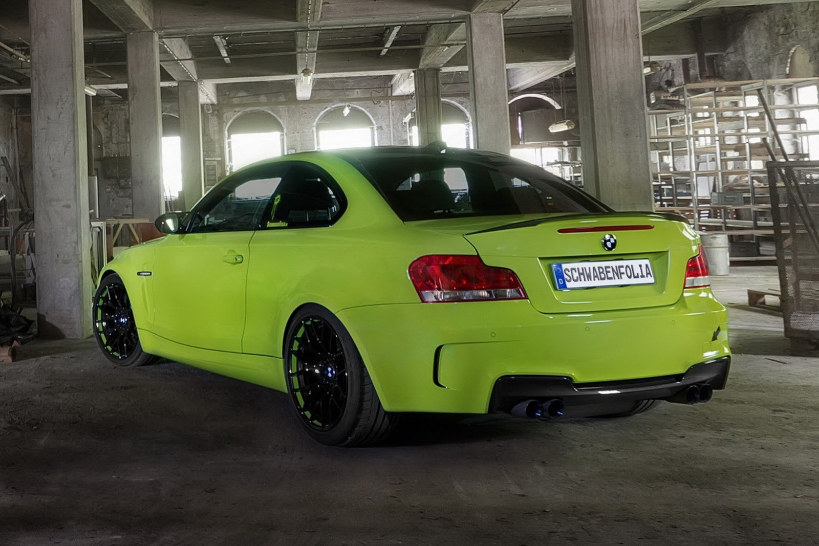 2013 Bmw 1 Series M Coupe By Schwabenfolia Top Speed