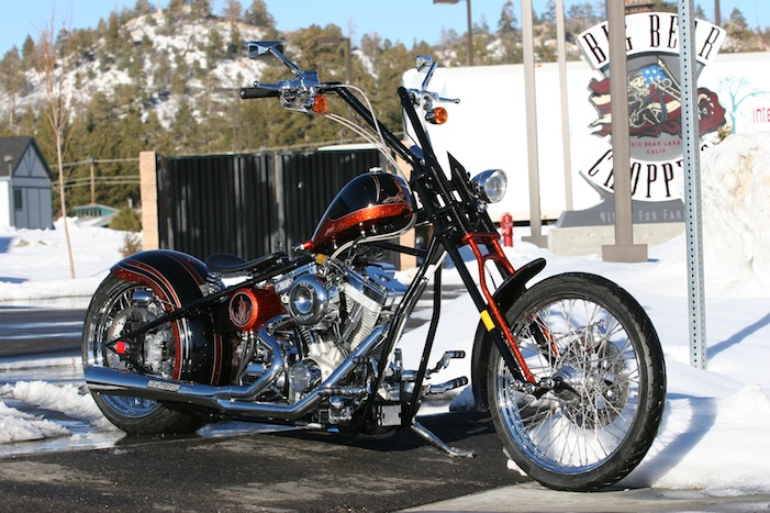 2013 Big Bear Choppers Screamin Demon  Top Speed