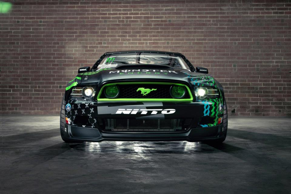 Ford Mustang Race Car Wallpaper 2014 Ford Mustang Rtr Monster Energy Nitto Tire By Vaughn