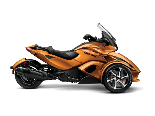 2014 CanAm Spyder STS Top Speed