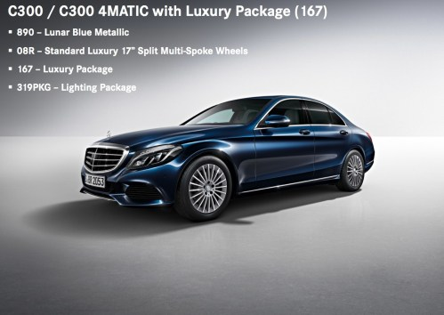 small resolution of 2015 mercedes c class order guide leaks online