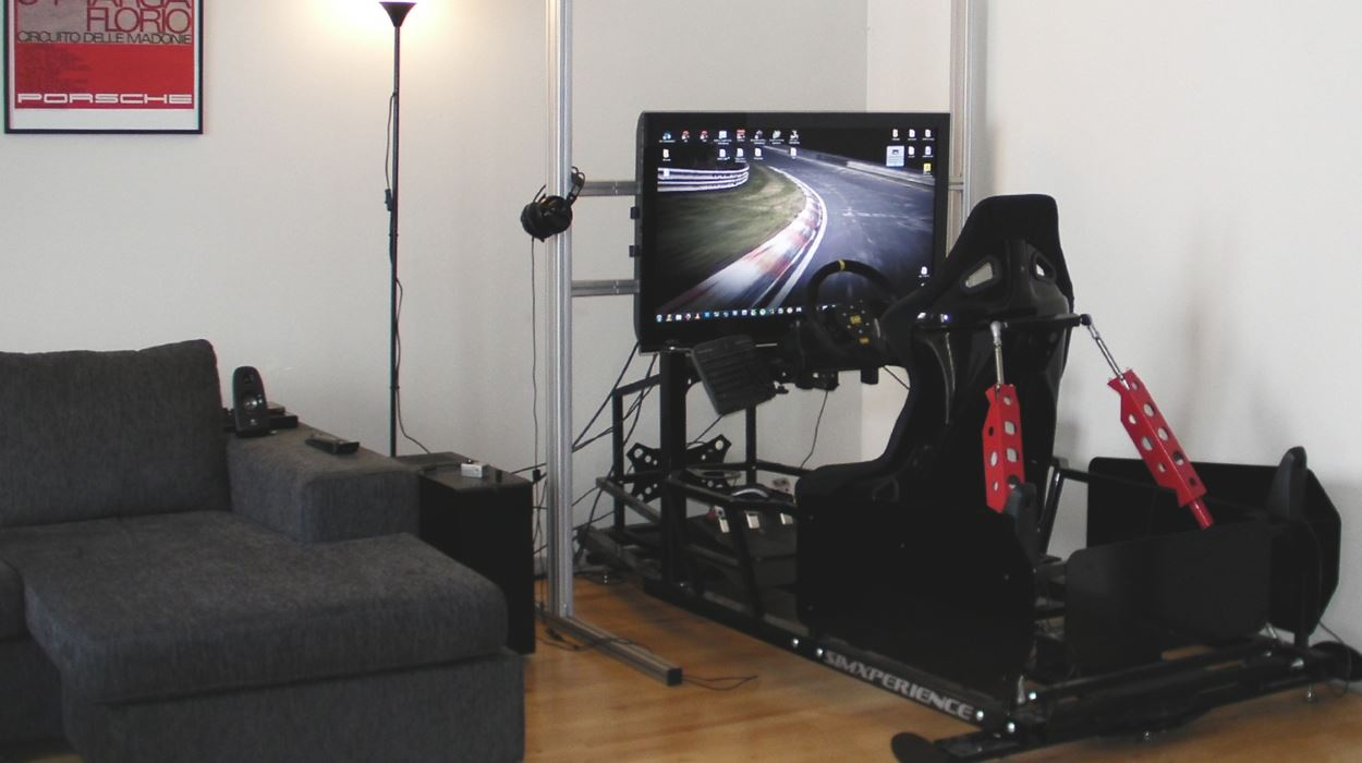 The Coolest Racing Simulator Ever  Top Speed