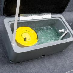 Fishing Chair Setup Single Lounge Covers 2015 Tracker Panfish 16 Review - Top Speed