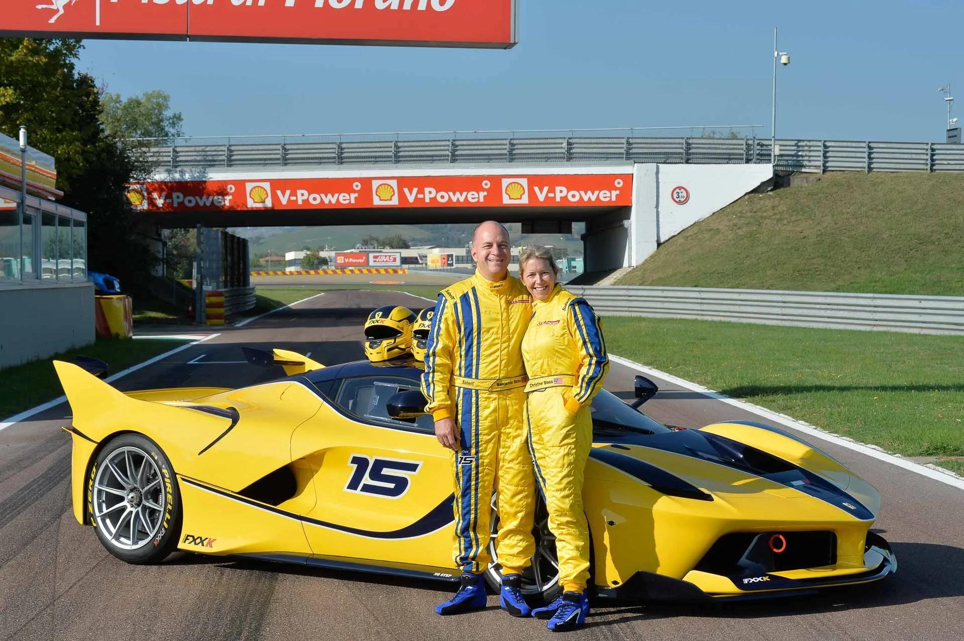 The Mrs Drives Her Ferrari FXX K At Fiorano Video News