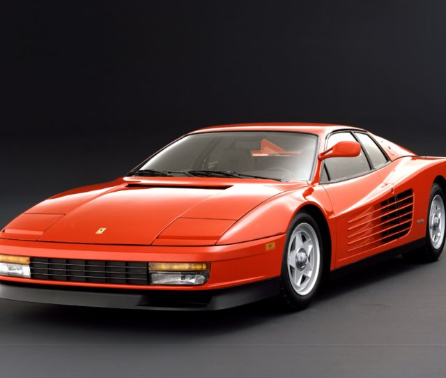 Ferrari Testarossa Top Speed