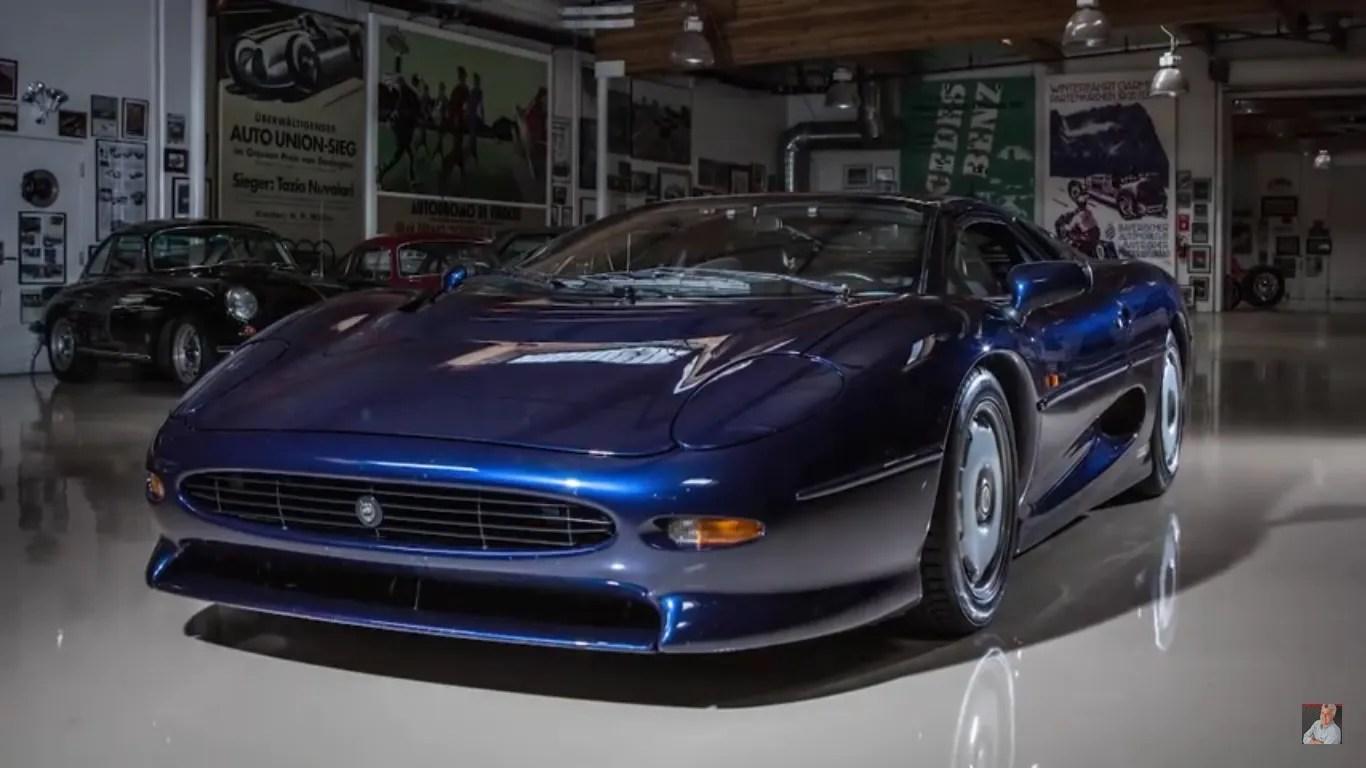 Godfather Hd Wallpaper Jaguar Xj220 Pays Jay Leno S Garage A Visit Video News