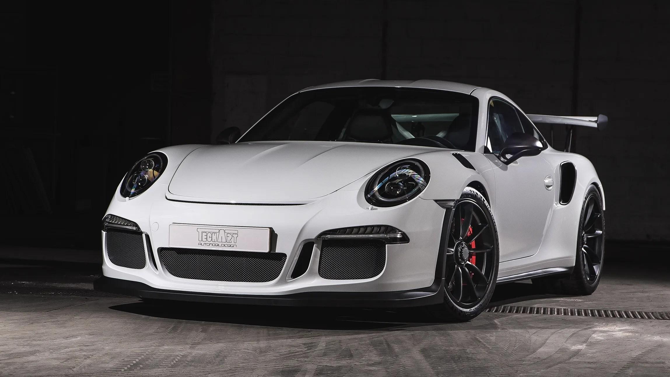 2016 Porsche 911 Gt3 Rs Carbon By Techart Pictures Photos