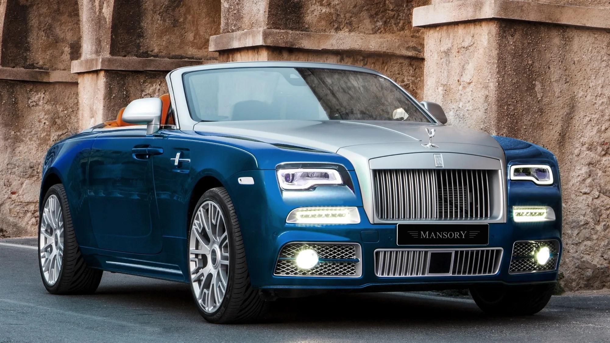 2016 Rolls Royce Dawn By Mansory Top Speed