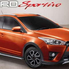 Toyota Yaris Trd All New Kijang Innova V Diesel 2016 Sportivo Top Speed