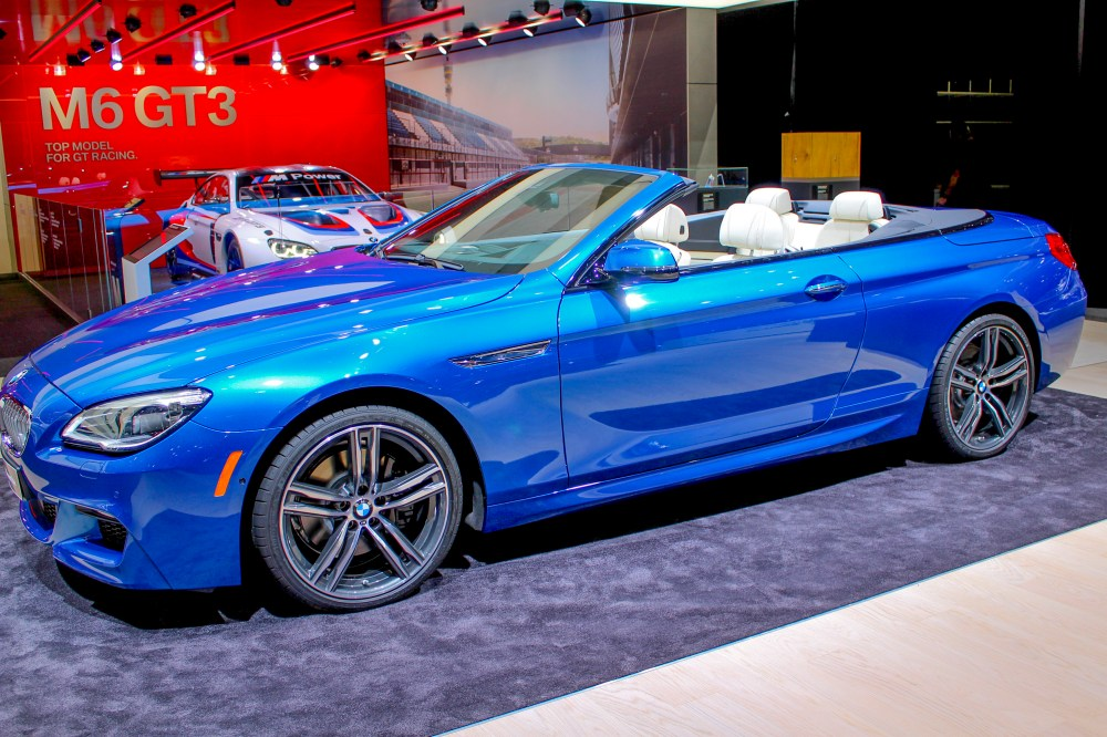 medium resolution of bmw 6 series convertible shows detroit that new isn t always better