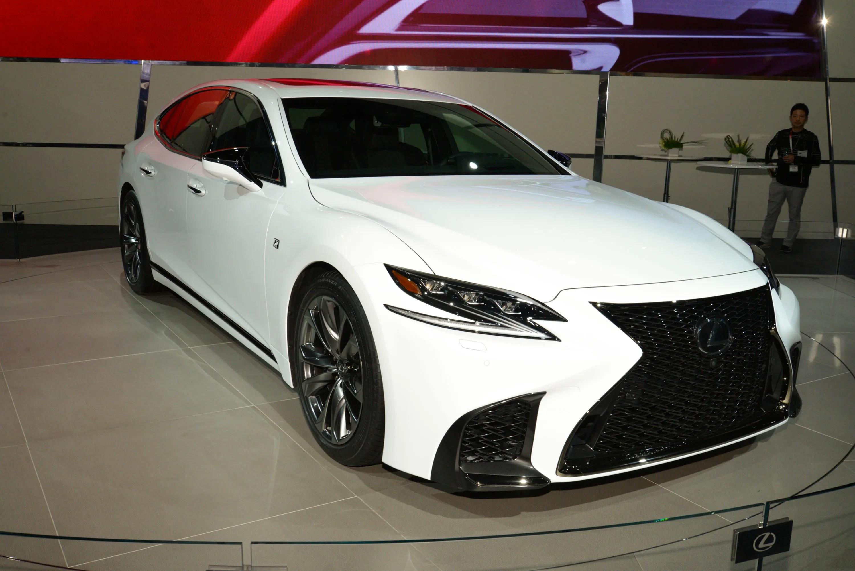 Lexus LS 500 F SPORT Makes Debut In New York News Top Speed