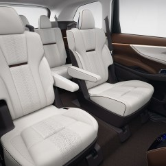 Captain Chairs Suv Office Chair Upholstered Subaru Ascent Concept Begs One Question Why Top Speed
