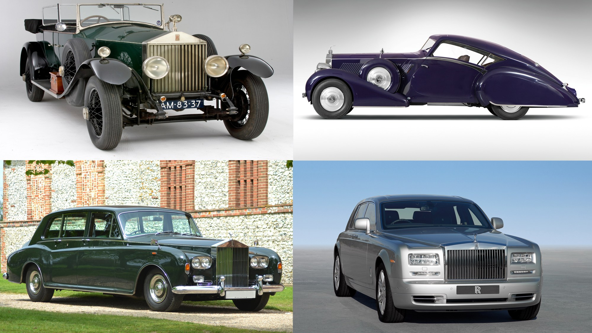 hight resolution of the gilded history of the rolls royce phantom