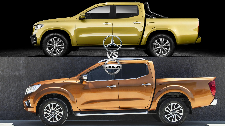 Mercedes Benz X Class Vs Nissan Navara Top Speed