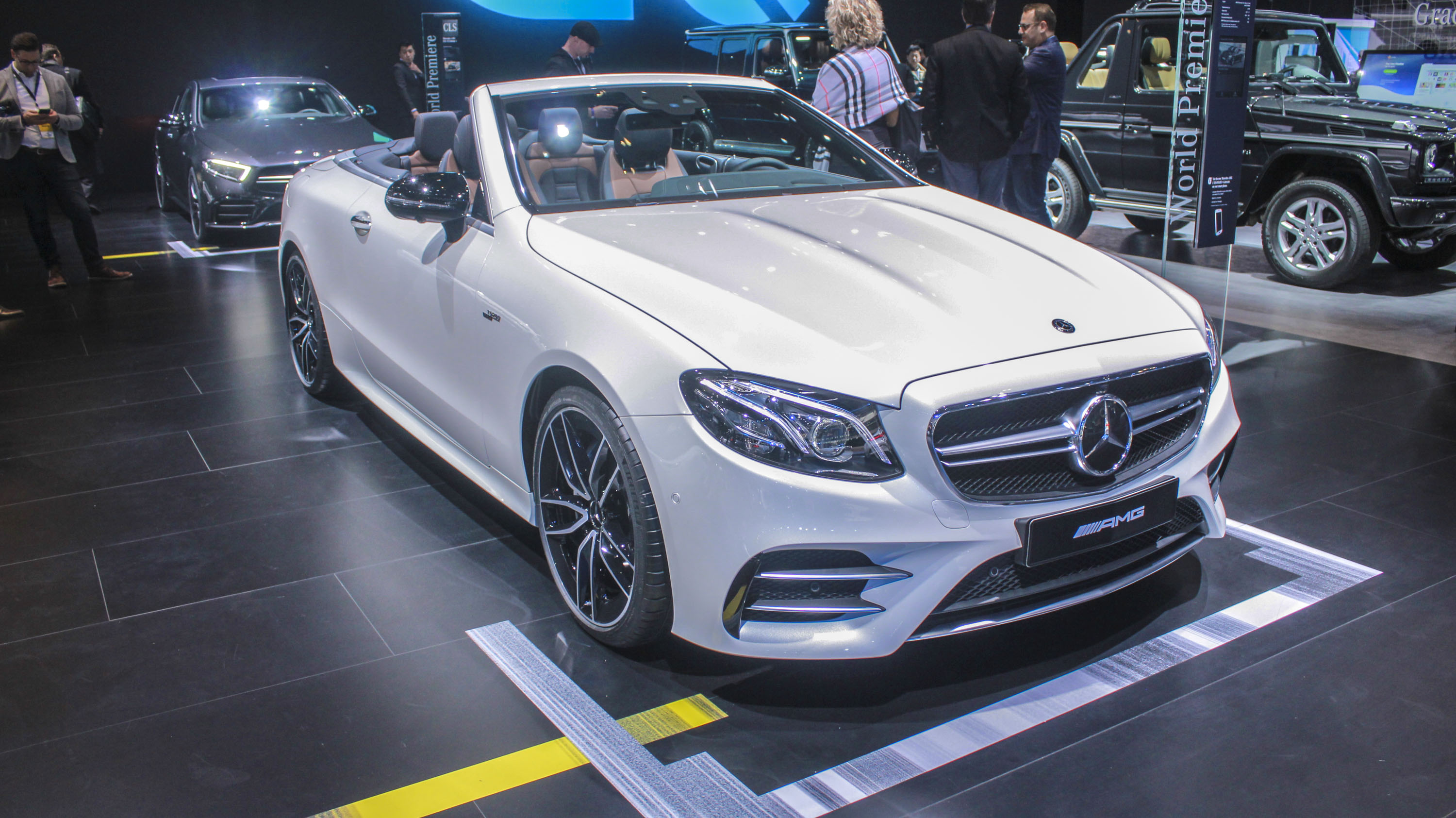 2019 Mercedes AMG E53 Cabriolet Top Speed